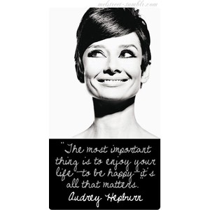Just a little Audrey